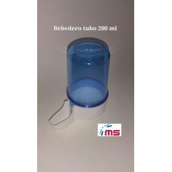 Bebedero canarios azul 200 ml Art 275
