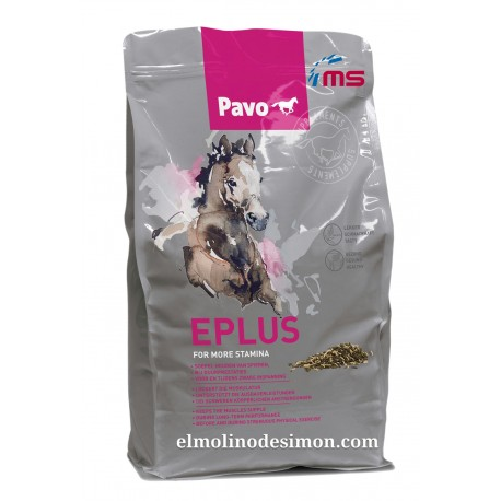 PAVO E PLUS 3 KG
