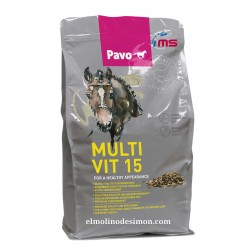 PAVO MULTIVIT 15 3 KGR