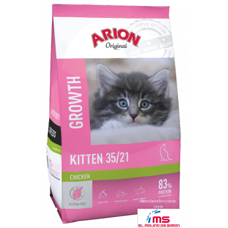 ARION ORIGINAL CAT KITTEN GROWTH 2 KG