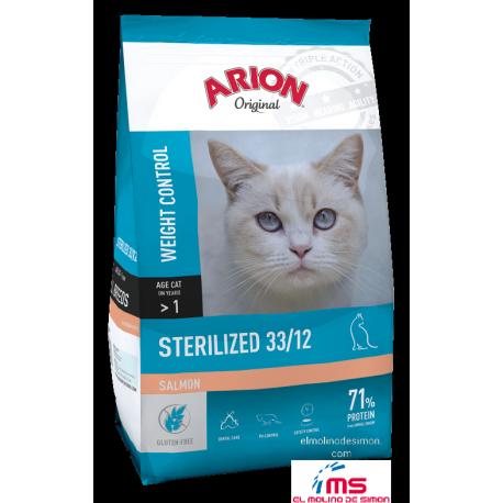 ARION ORIGINAL CAT STERILIZED SALMON 2 KG