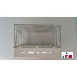 Bañera Exterior Maxi C/ Puerta. Postura Pesada y Ninfas